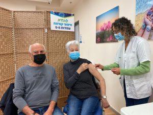 חיסון קורונה במודיעין